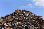 Scrap Metal Pile, Bavaria, Germany