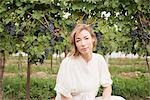 Portrait of Wine Maker in Vineyard Stock Photo - Premium Royalty-Free, Artist: Hiep Vu                  , Code: 600-03153007