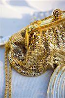 Gold chain mail handbag with rhinestone ball clasp Stock Photo - Premium Rights-Managednull, Code: 822-03161871