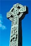 11th CENTURY CELTIC HIGH CROSS IN CEMETERY IN DRUMCLIFFE COUNTY SLIGO IRE LAND Stock Photo - Premium Rights-Managed, Artist: ClassicStock, Code: 846-03163144