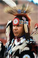 INDIAN DANCER AT INTER TRIBAL CEREMONIAL DANCE GALLUP, NM Stock Photo - Premium Rights-Managednull, Code: 846-03164684