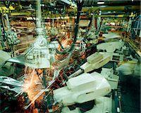 1980s ROBOT AUTO BODY WELDERS Stock Photo - Premium Rights-Managednull, Code: 846-03164736