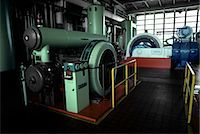 1970s GENERATORS AND LARGE MACHINERY IN AUTOMOBILE PLANT Stock Photo - Premium Rights-Managednull, Code: 846-03164737