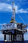 OFFSHORE OIL DRILLING PLATFORM Stock Photo - Premium Rights-Managed, Artist: ClassicStock, Code: 846-03164767