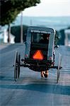 AMISH BUGGY LANCASTER COUNTY PENNSYLVANIA