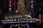 NEW YORK NY RADIO CITY MUSIC HALL DECORATED FOR CHRISTMAS