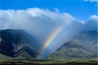 refraction - RAINBOW HAWAII Stock Photo - Premium Rights-Managednull, Code: 846-03165649