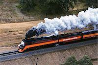 steam engine - AERIAL OF SP 4449 VINTAGE STEAM ENGINE SACRAMENTO RAIL FAIR '91 REDDING CALIFORNIA Stock Photo - Premium Rights-Managednull, Code: 846-03165759