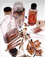 1970s STILL LIFE OF DRUGS ALCOHOL TOBACCO CIGARETTES PILLS ASHTRAY MATCHES Stock Photo - Premium Rights-Managednull, Code: 846-03166058