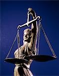 SCALES JUSTICE STATUE BLIND Stock Photo - Premium Rights-Managed, Artist: ClassicStock, Code: 846-03166091