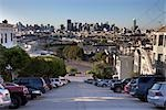 View of Downtown from Portrero Hill, San Franciso, California, USA Stock Photo - Premium Rights-Managed, Artist: Damir Frkovic, Code: 700-03171553