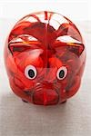 Close-Up of Piggy Bank Stock Photo - Premium Royalty-Free, Artist: photo division, Code: 600-03178759