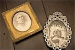 Antique Framed Photographs Stock Photo - Premium Rights-Managed, Artist: Amy Whitt, Code: 700-03178988