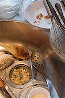 Dirty Dishes in Kitchen Sink Stock Photo - Premium Rights-Managednull, Code: 700-03178999