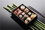 Still Life of Sushi Stock Photo - Premium Royalty-Free, Artist: Lothar Wels, Code: 600-03179037
