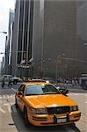 Yellow Taxi in New York City, New York, USA Stock Photo - Premium Rights-Managed, Artist: Jean-Christophe Riou, Code: 700-03179036