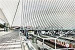 Liege-Guillemins Train Station, Liege, Wallonia, Belgium