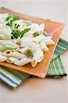 Close-up of pasta in a plate Stock Photo - Premium Rights-Managed, Artist: Glowimages, Code: 837-03186712