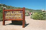 Sign-post, Cape of Good Hope Nature Reserve, Cape Town, Western Cape Province, South Africa Stock Photo - Premium Royalty-Free, Artist: Universal Images Group, Code: 682-03188214