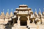 Entrance of a temple, Adinath Temple, Jain Temple, Ranakpur, Pali District, Udaipur, Rajasthan, India Stock Photo - Premium Rights-Managed, Artist: Photosindia, Code: 857-03192524