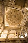 Low angle view of the ceiling of a temple, Adinath Temple, Jain Temple, Ranakpur, Pali District, Udaipur, Rajasthan, India Stock Photo - Premium Rights-Managed, Artist: Photosindia, Code: 857-03192525