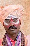 Portrait of a sadhu, Hampi, Karnataka, India Stock Photo - Premium Rights-Managed, Artist: Photosindia, Code: 857-03192801