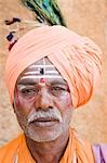 Portrait of a sadhu, Hampi, Karnataka, India Stock Photo - Premium Rights-Managed, Artist: Photosindia, Code: 857-03192803