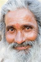 Portrait of a sadhu, Hampi, Karnataka, India Stock Photo - Premium Rights-Managednull, Code: 857-03192812