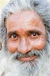 Portrait of a sadhu, Hampi, Karnataka, India Stock Photo - Premium Rights-Managed, Artist: Photosindia, Code: 857-03192812