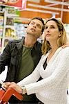 Couple in supermarket Stock Photo - Premium Royalty-Free, Artist: AWL Images, Code: 632-03193737