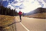Jogging Stock Photo - Premium Rights-Managed, Artist: Aflo Relax, Code: 859-03194402