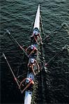 Rowing - Coxless Four Stock Photo - Premium Rights-Managed, Artist: Aflo Sport, Code: 858-03194501