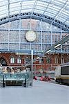 Eurostar Terminal, St Pancras Station, St Pancras, London, England, United Kingdom Stock Photo - Premium Rights-Managed, Artist: Matt Brasier, Code: 700-03194964