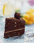 Chocolate spongecake Stock Photo - Premium Rights-Managed, Artist: foodanddrinkphotos, Code: 824-03197800