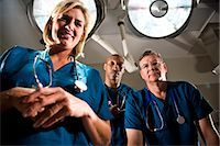 Surgeons in operating room Stock Photo - Premium Rights-Managednull, Code: 842-03199682