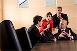 Multi-ethnic business managers meeting in boardroom Stock Photo - Premium Rights-Managed, Artist: Kablonk! RM, Code: 842-03200404