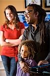 Interracial family at home Stock Photo - Premium Rights-Managed, Artist: Kablonk! RM, Code: 842-03200907