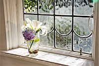 spring flowers - Vase of flowers near window Stock Photo - Premium Rights-Managednull, Code: 842-03200948