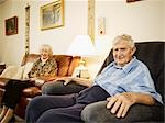 Elderly Couple in Retirement Home Stock Photo - Premium Royalty-Free, Artist: Matthew Plexman, Code: 600-03210385