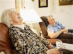 Elderly Couple in Retirement Home Stock Photo - Premium Royalty-Free, Artist: Matthew Plexman, Code: 600-03210386