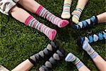 Children Wearing Socks Stock Photo - Premium Rights-Managed, Artist: Ty Milford, Code: 700-03210503