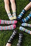 Children Wearing Socks Stock Photo - Premium Rights-Managed, Artist: Ty Milford, Code: 700-03210504
