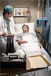 Emergency Room Doctor Stock Photo - Premium Rights-Managed, Artist: Orbit, Code: 700-03210510