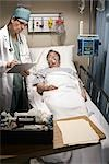 Emergency Room Doctor Stock Photo - Premium Rights-Managed, Artist: Orbit, Code: 700-03210511