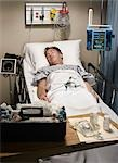 Patient in Emergency Room Stock Photo - Premium Rights-Managed, Artist: Orbit, Code: 700-03210512