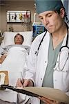 Emergency Room Doctor Stock Photo - Premium Rights-Managed, Artist: Orbit, Code: 700-03210514