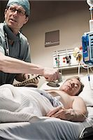 Emergency Room Doctor and Patient Stock Photo - Premium Rights-Managednull, Code: 700-03210517