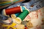 Still Life of Sewing Supplies Stock Photo - Premium Royalty-Free, Artist: Amy Whitt, Code: 600-03227553