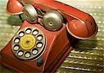 Old Toy Telephone Stock Photo - Premium Royalty-Free, Artist: Amy Whitt, Code: 600-03227555