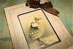 Still Life of Antique Photograph Stock Photo - Premium Rights-Managed, Artist: Amy Whitt, Code: 700-03227546